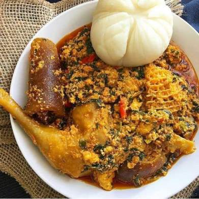 Egusi Soup popularly called melon soup can be prepared in variety of ways - International ,local or traditionally.