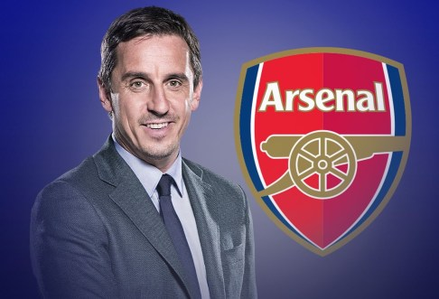 Arsenal FC Not Among The Top 6 Clubs in England - Gary Neville