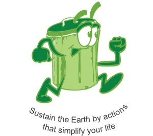 Sustain the Earth by actions that simplify your life