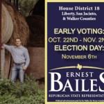 ernest bailes political ad