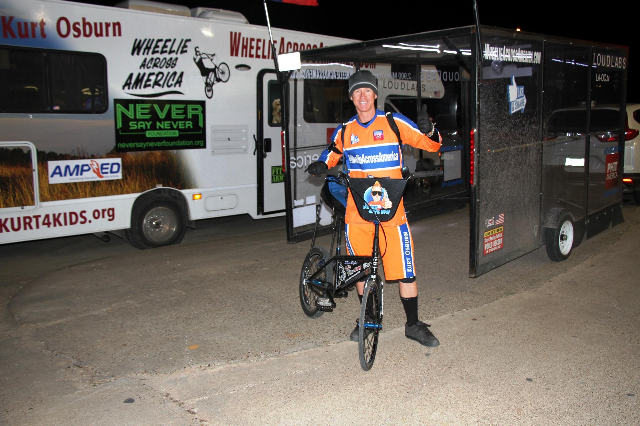Guinness World Record Holder Wheelies His Way Through Liberty County