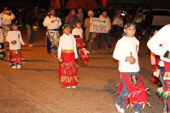 Dancers from Immaculate Conception Church perform during Country Christmas on Nov. 27 in Liberty.