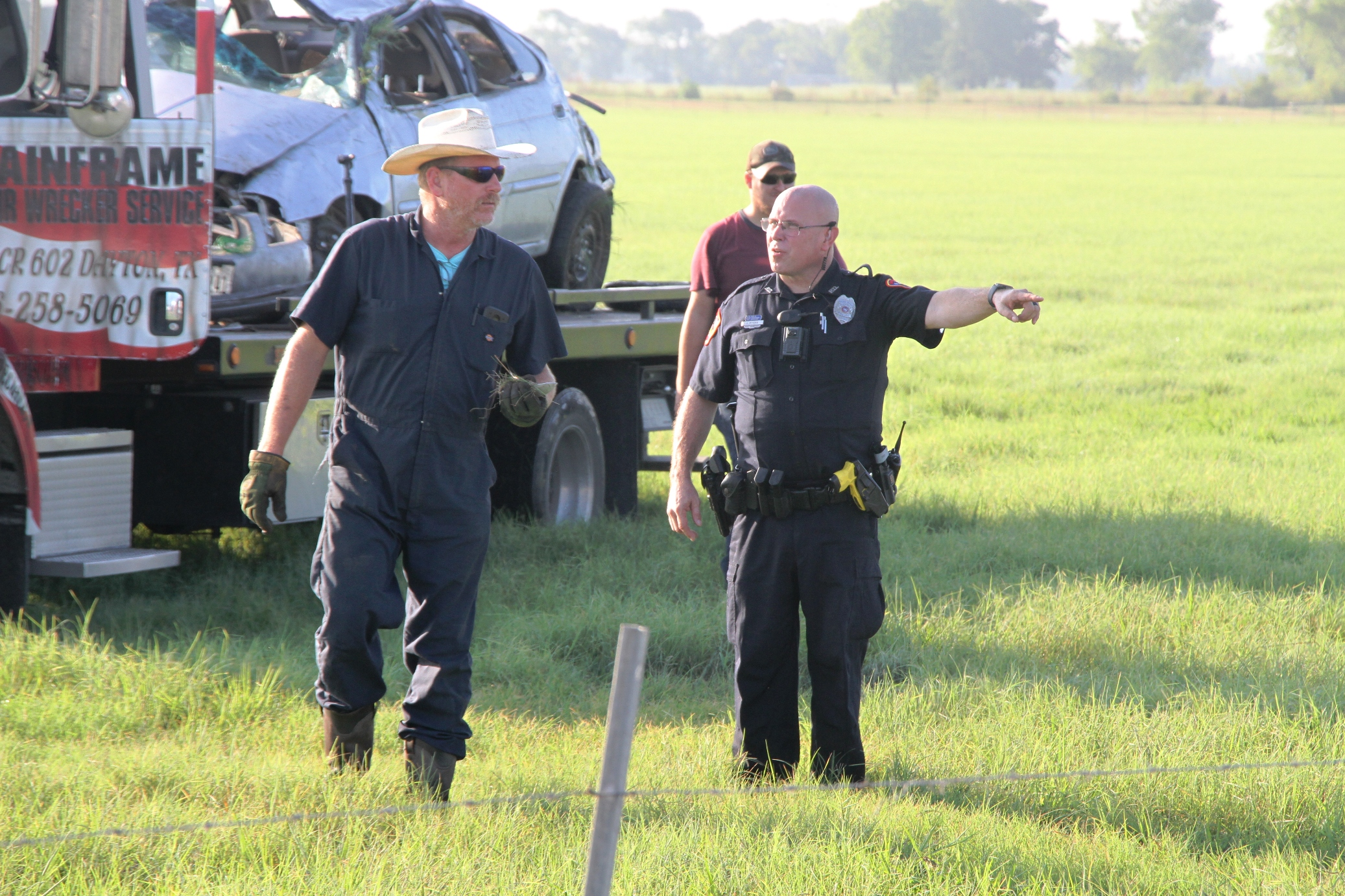 Chase in Dayton ends with fatal crash Monday | Bluebonnet News