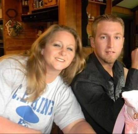 In this photo from happier times, Steven Dean is pictured with his mother, Jessie Hebert, of Sheldon. Dean has been missing for three months. He was last seen Aug. 17, by neighbors in Dayton as he walked away from his home in Dayton.