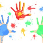 free-dirty-paint-hands-vector
