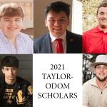 0421taylor odom scholars