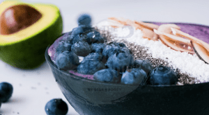 Blueberry Superfood Smoothie Bowl