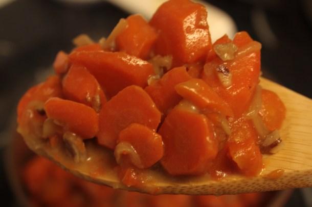 Maple Pecan Carrots
