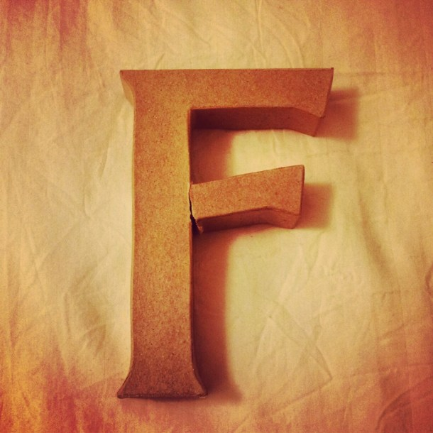 F is for Freshness