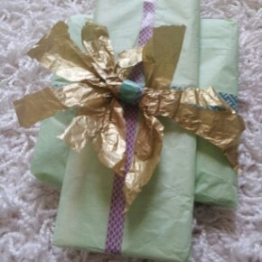 Wrapping up a Pretty Spring Present