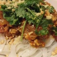 "Burmese Bolognese ""Spaghetti"""