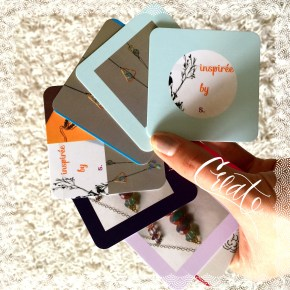 inspiréebys has NEW business cards!