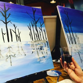 🎨Paint Party in Boston @Muse Paintbar