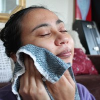 relaxation DIY facial steam