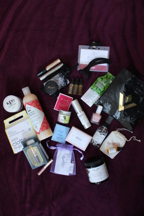 organic beauty brands - W.E.L.L. summit swag bag