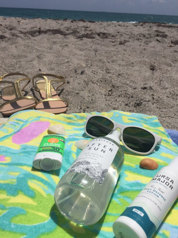 Safe Sun Care with Herbivore Botanicals, Ursa Major VT, and Raw Elements USA at Follain