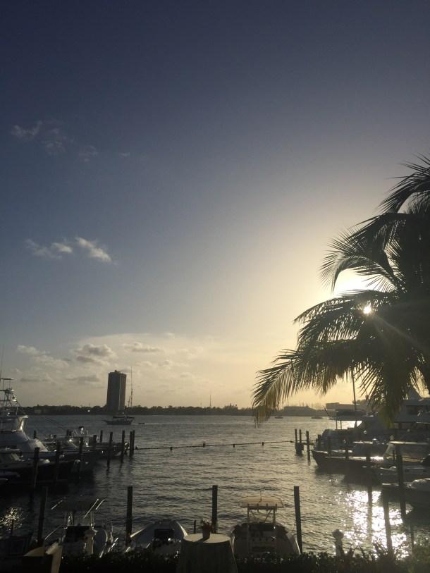 Sunset in Palm Beach