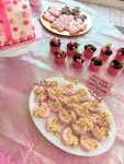 pink desserts baby girl shower