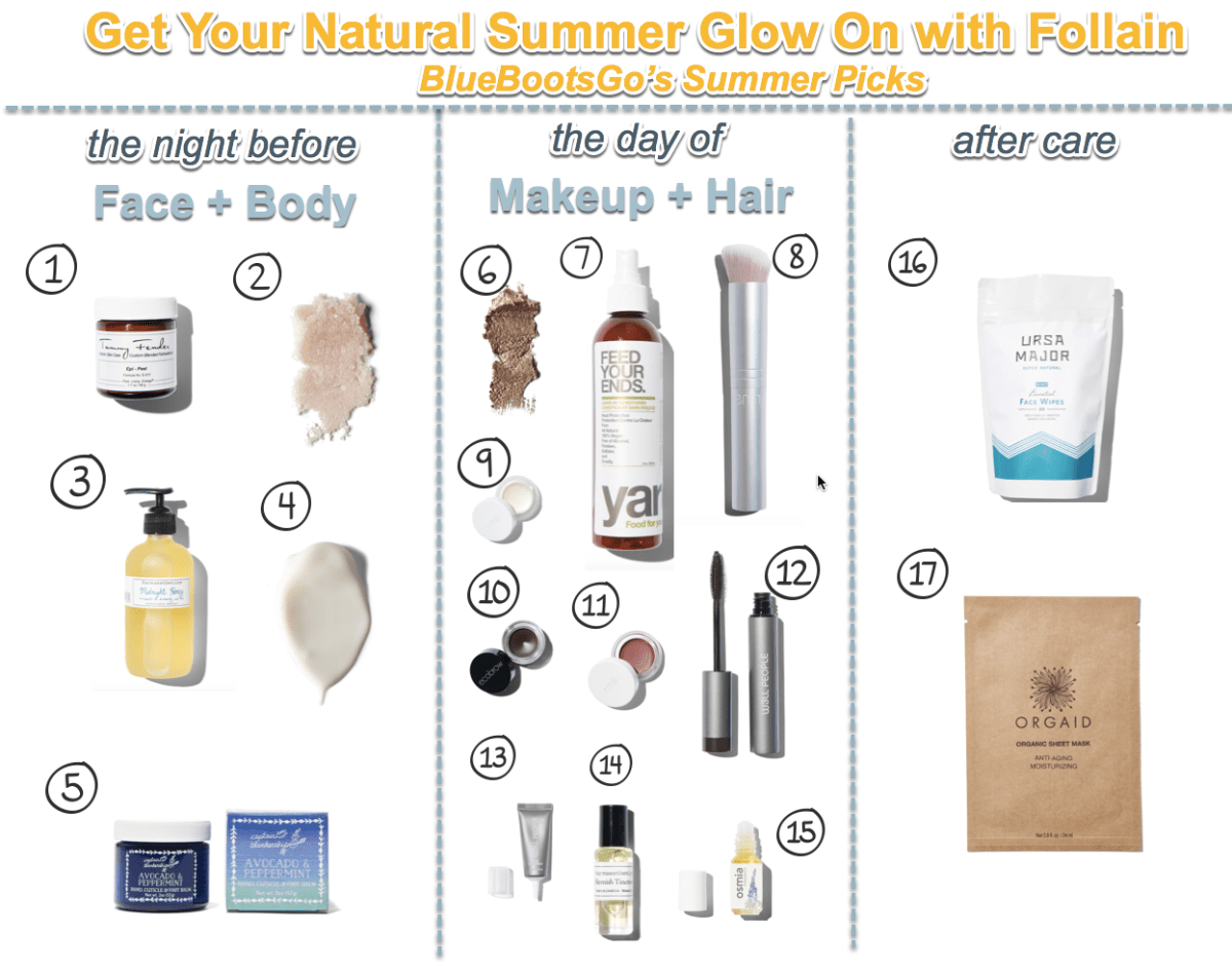 Summer Refresher - Get Your Natural Glow on with Follain