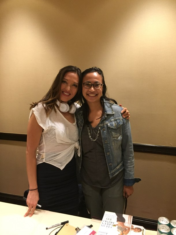 Candice Kumai and BlueBootsGo
