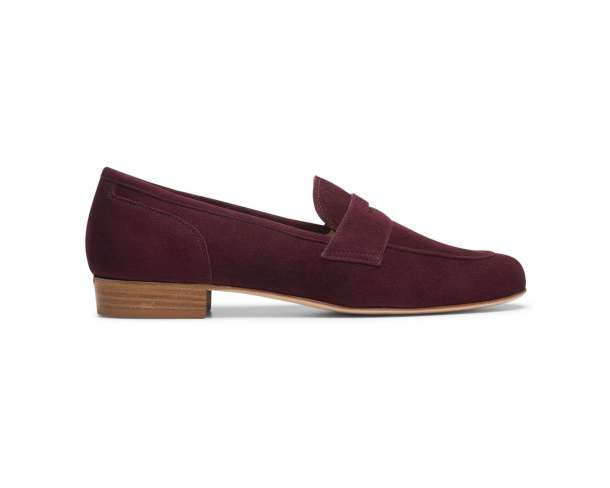 "m.gemi ""The Carta"" penny loafer in chianti"