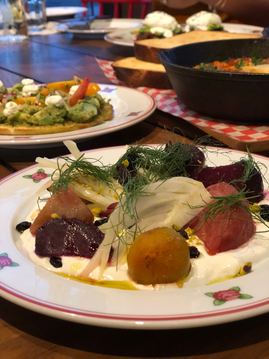 Roasted Beets - Cafe Landwer - Where the BlueBoots Go