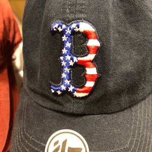 Patriotic Red Sox Cap - The Paper Store - Where the BlueBoots Go