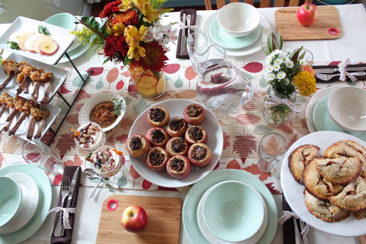 Apple Themed Brunch - Where the BlueBoots Go