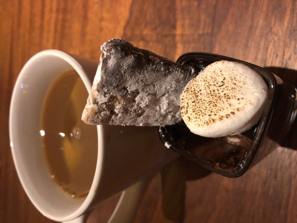Coffee and Belgian Chocolate S'more Dessert - Seasons 52 | Where the BlueBoots Go