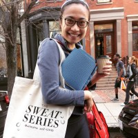 well+GOOD from NYC came to Boston for a Sweat Series bootcamp.... My first one!