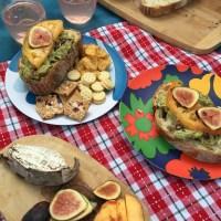 A sweet season of colorful picnics & local fare