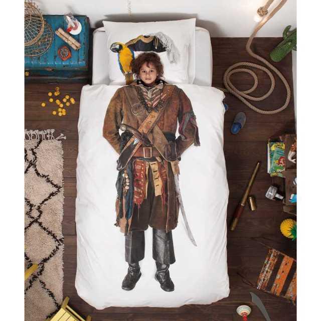 Snurk sängkläder - Pirat Image
