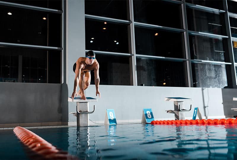recover after swim sets