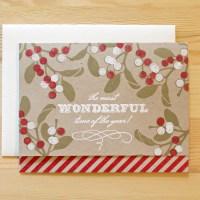 Handmade Holiday Card Swap