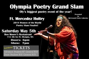 Olympia Poetry Grand Slam! @ Ben Moore's Restaurant and Pub