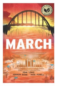 "Author Reading & Discussion: ""March"" by Congressman John Lewis, Andrew Aydin and illustrator Nate Powell @ Pacific Lutheran University"