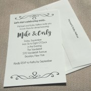 Simple, Elegant invitation
