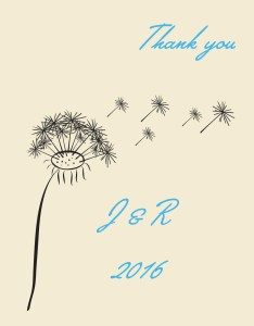 Thank You Dandelion
