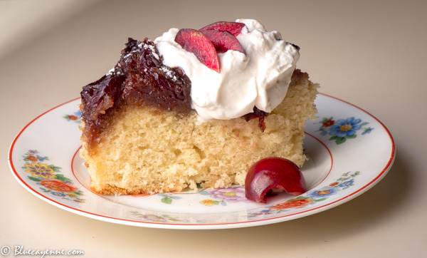 Cherry Upside Down Cake1-2