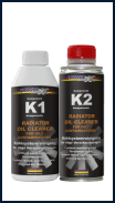 RADIATOR OIL CLEANER K1 + K2