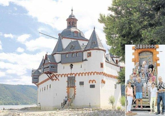 Burg Pfalzgrafenstein in Kaub am Rhein