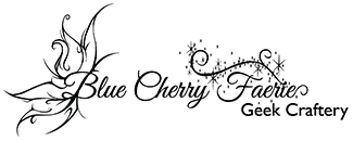 Blue Cherry Faerie