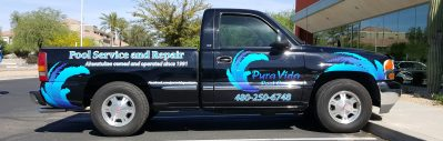 Vinyl Lettering and Graphics, Ahwatukee Truck Wrap