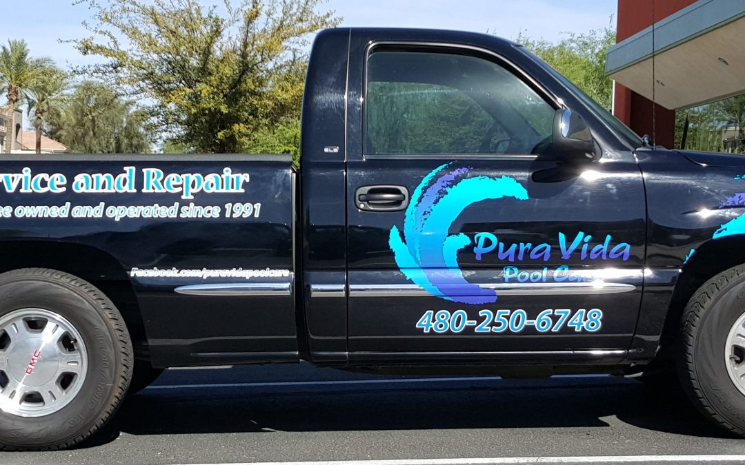 PHOENIX, AZ – brand building with custom vehicle text and graphics