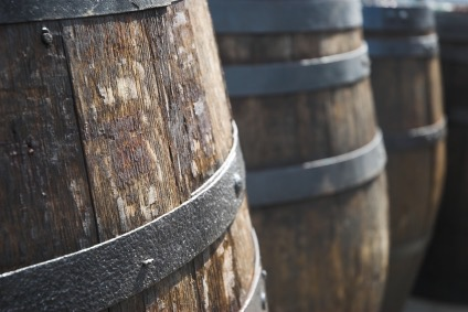 Oak-barrels-used-to-store-wine