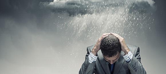 低気圧とメンタルヘルス不調