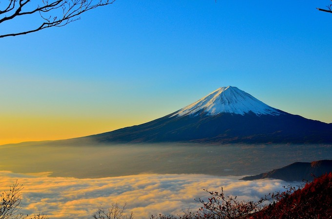 新年ご挨拶 富士山