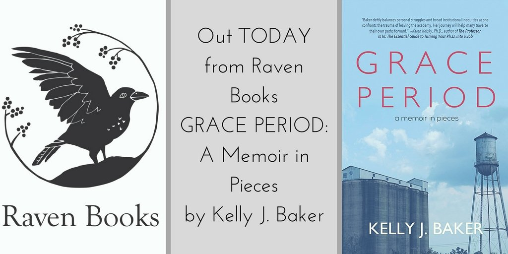 Happy Pub Day, Kelly: GRACE PERIOD: A MEMOIR IN PIECES out TODAY!