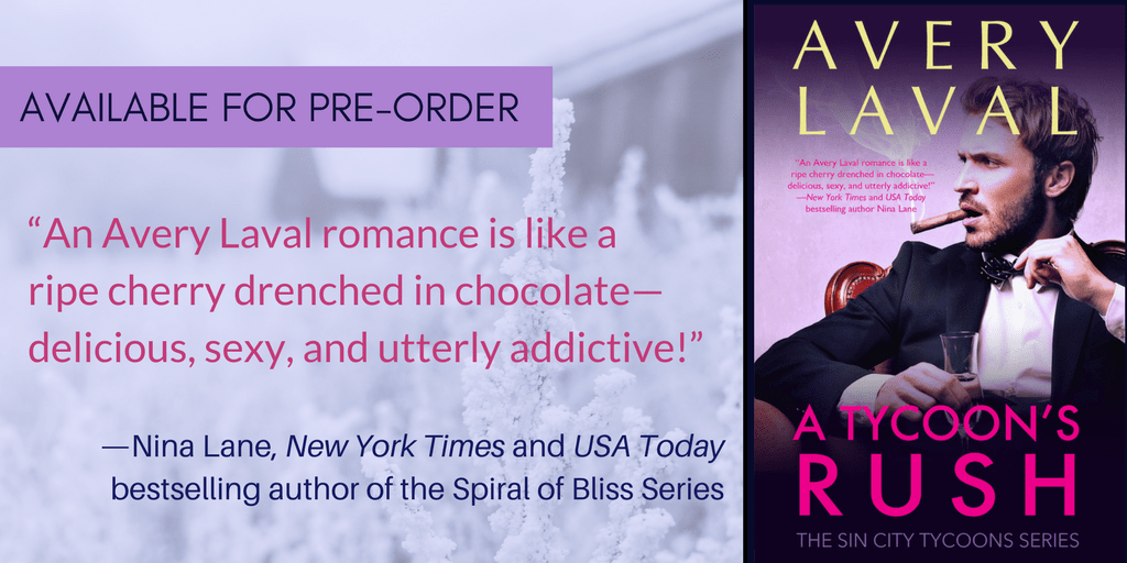 A TYCOON'S RUSH: Pre-Order Now!