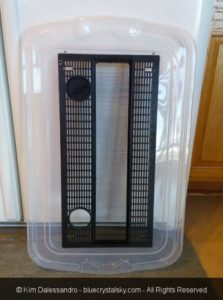 Best Way to Make a Hamster Bin Cage without Mesh